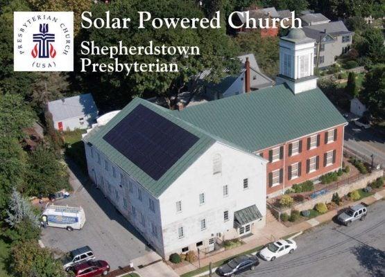 Shepherdstown Presbyterian Church Solar Installation