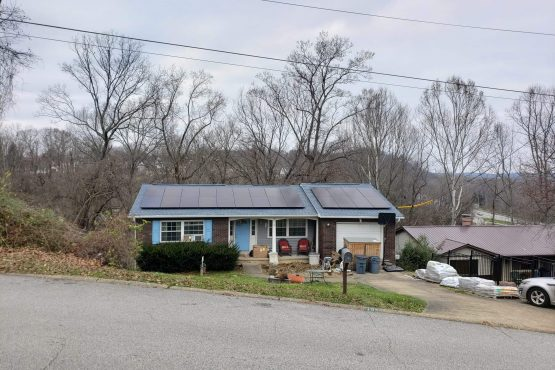 Solar Panels on home in Huntington, WV
