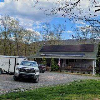 30 Solar Panel Roof System in Slanesville WV