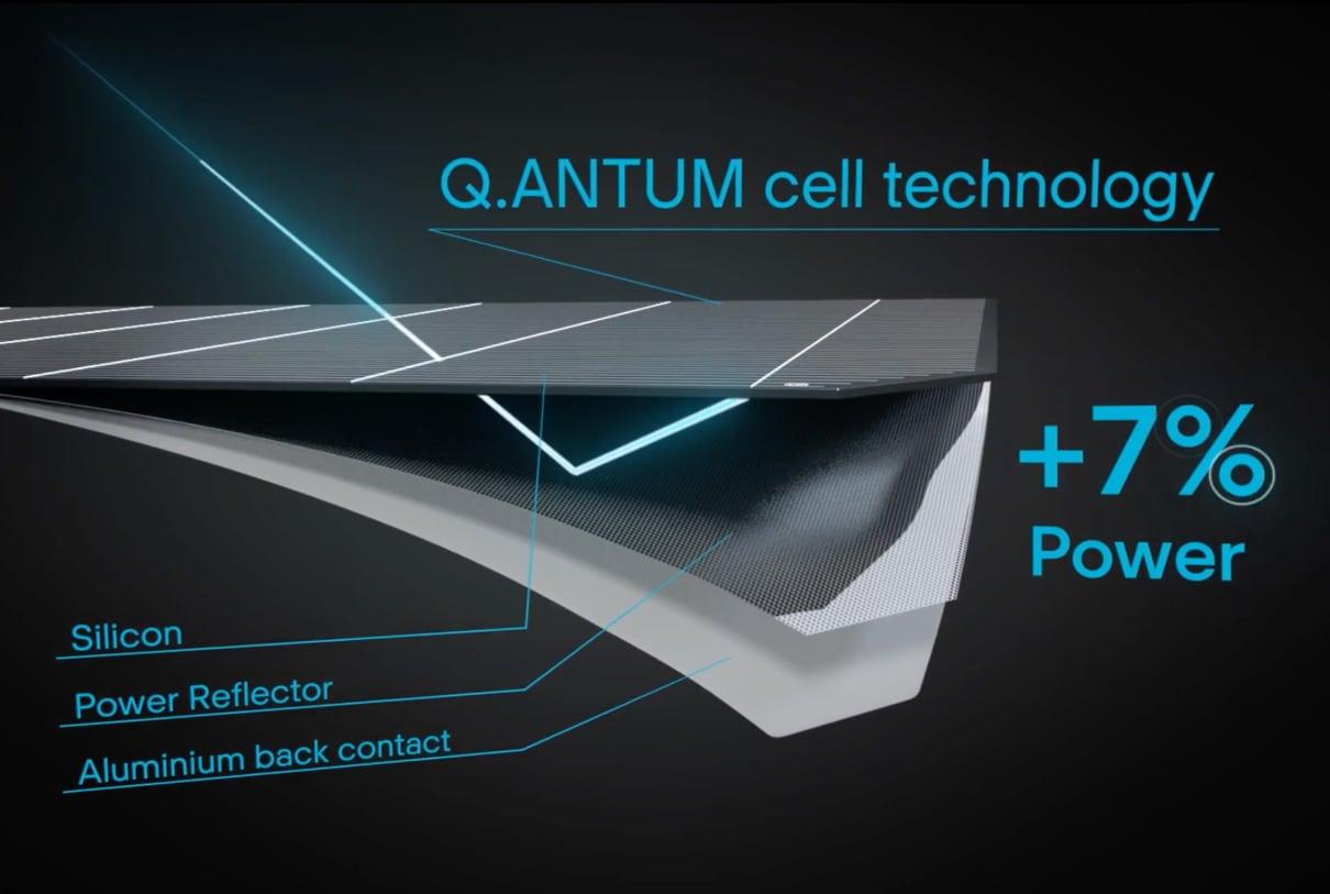 Q Cell Solar Panel