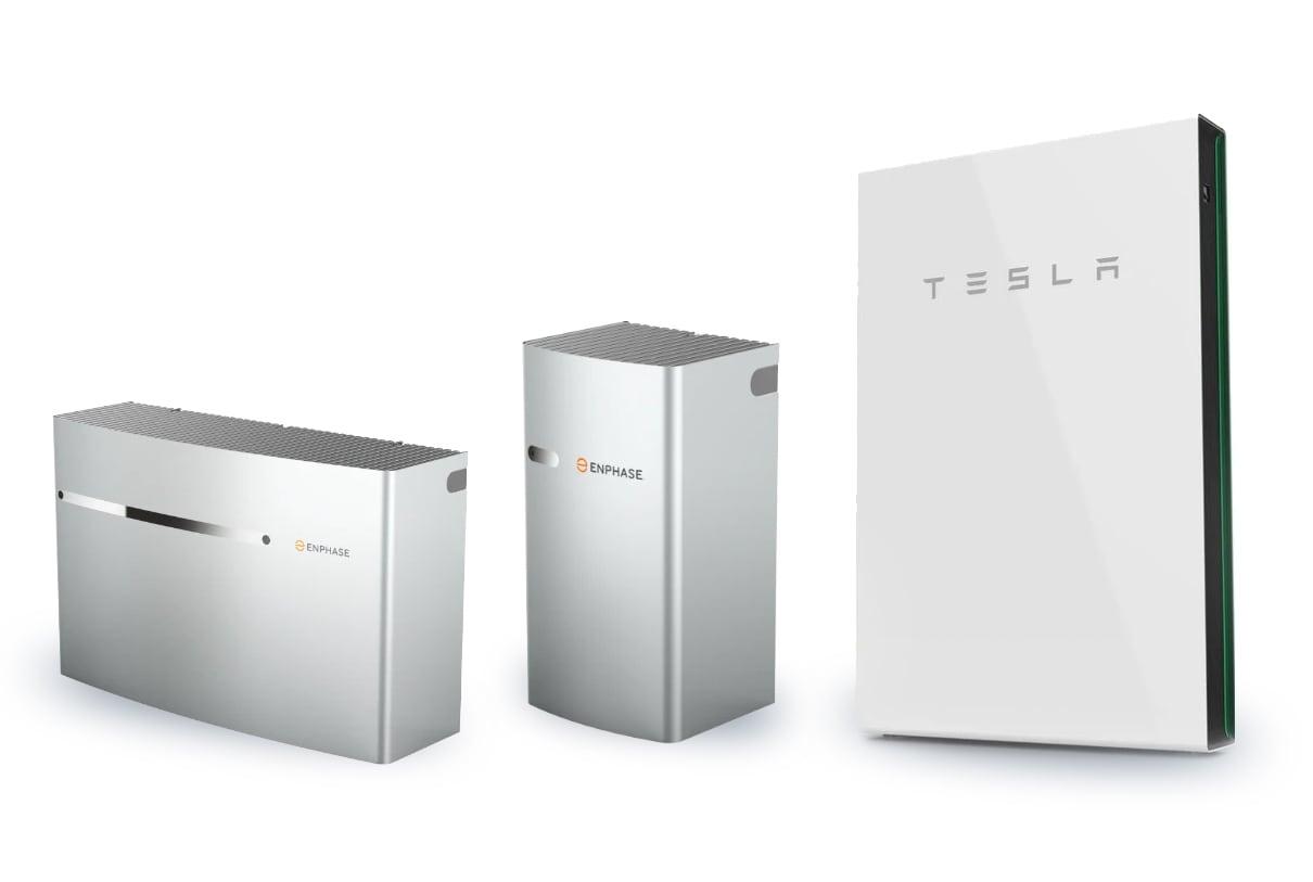 Battery Storage - Encharge 3™, Encharge 10™ and Tesla Powerwall