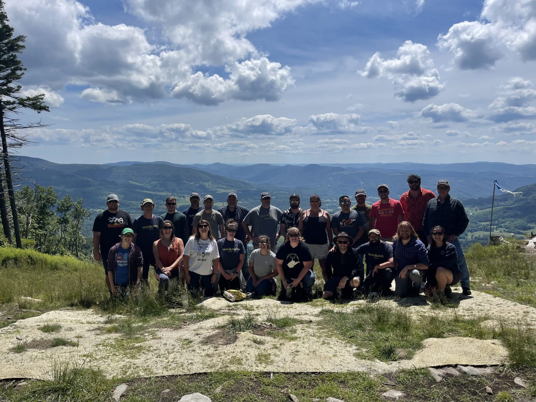 Solar Holler Team Group Pic Canaan Valley June 2021